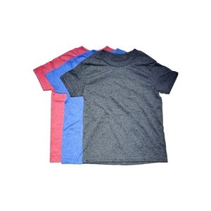 Kids plain t shirt 6 pcs- 2 per color